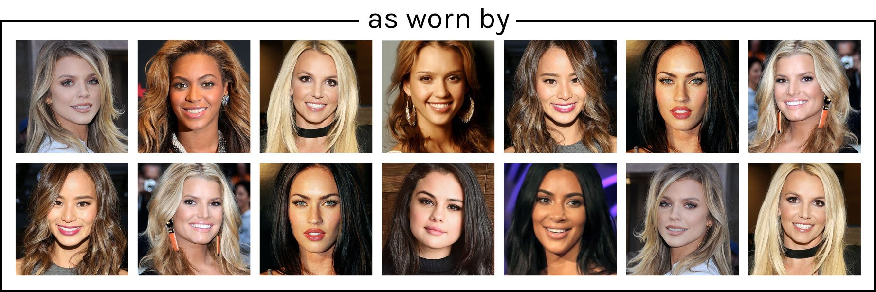 As worn by celebrities
