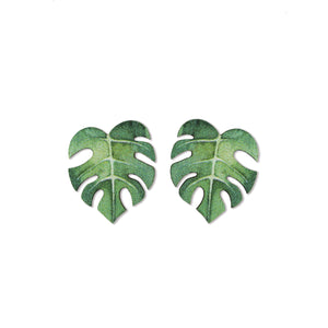 ORECCHINI LITTLE <br /> Monstera - Luli Art Bijoux