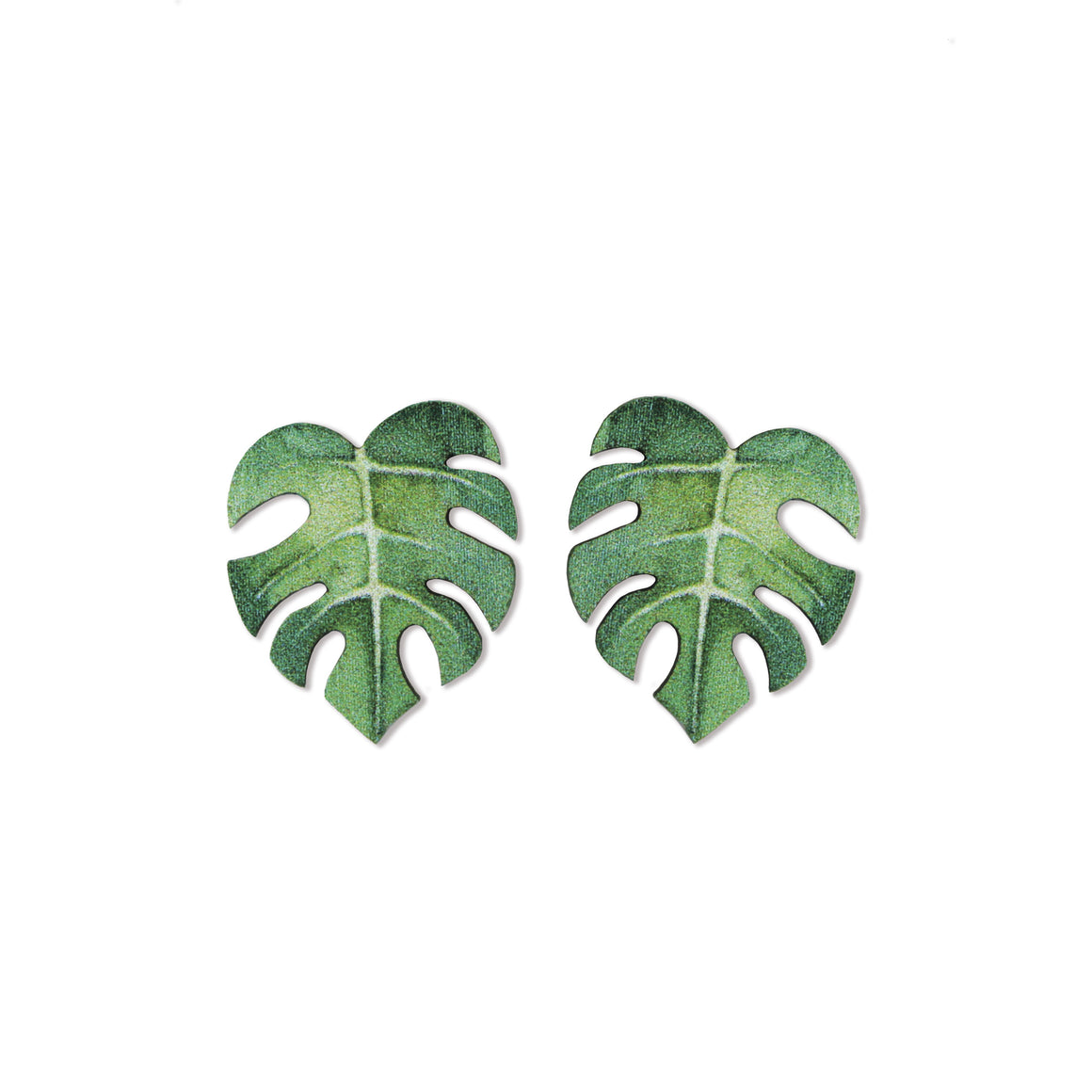 ORECCHINI LITTLE MONSTERA - Luli Art Bijoux
