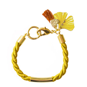 BRACCIALE COLOR TWIST GINKGO - Luli Art Bijoux