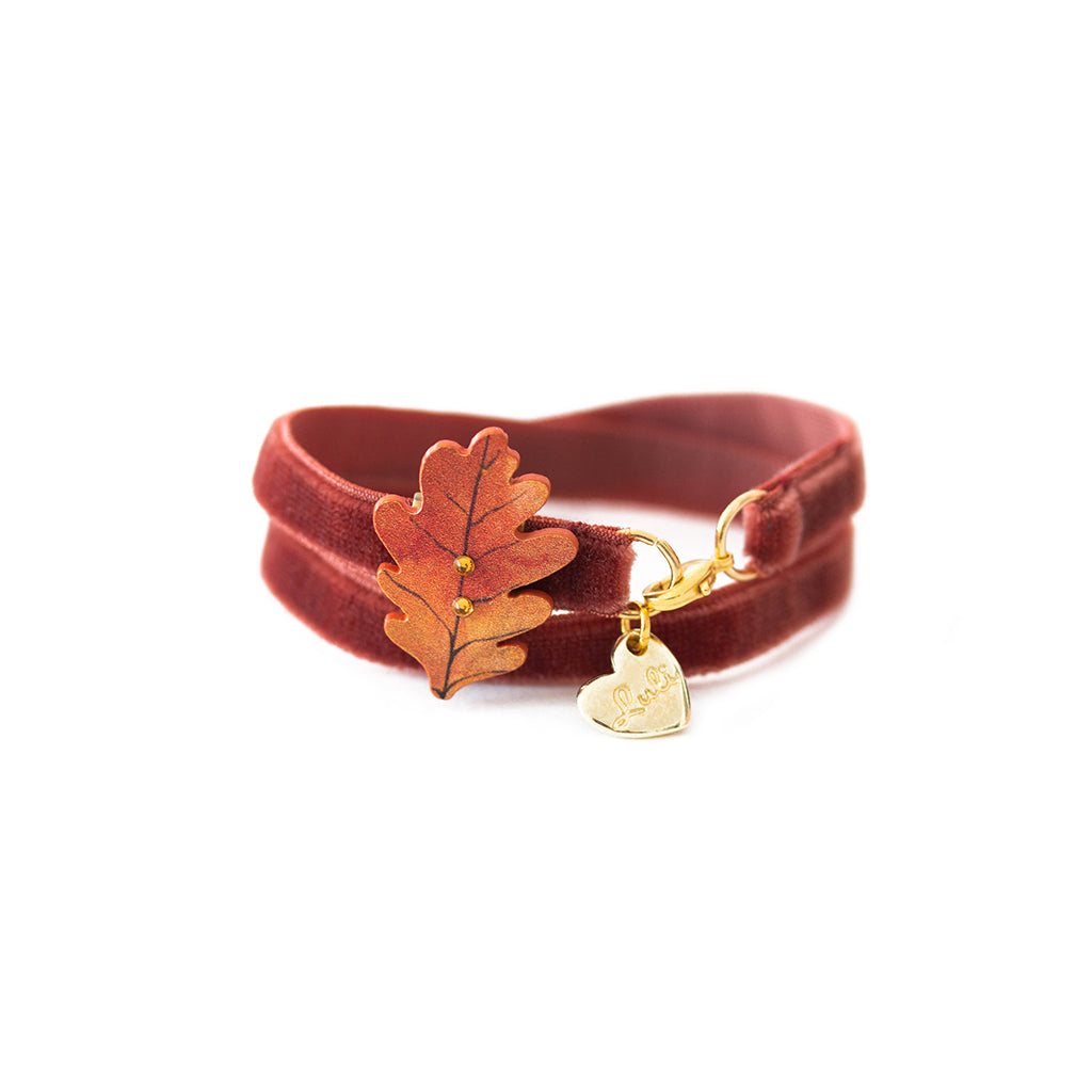 FLOWER VELVET - 2 in 1 <br /> Quercia - Luli Art Bijoux
