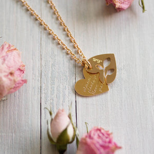 COLLANA CUORE <br /> Bloom with Grace - Luli Art Bijoux