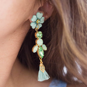 ORECCHINI SHIMMER <br /> Tropical Water - Luli Art Bijoux