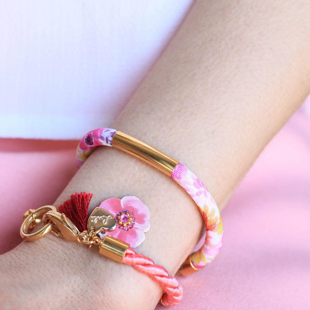 LULI Art Bijoux - bracciale flower happiness