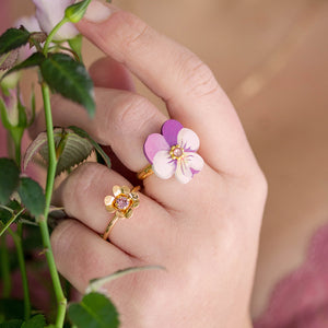 ANELLO JUST BLOOM <br /> + colori - Luli Art Bijoux