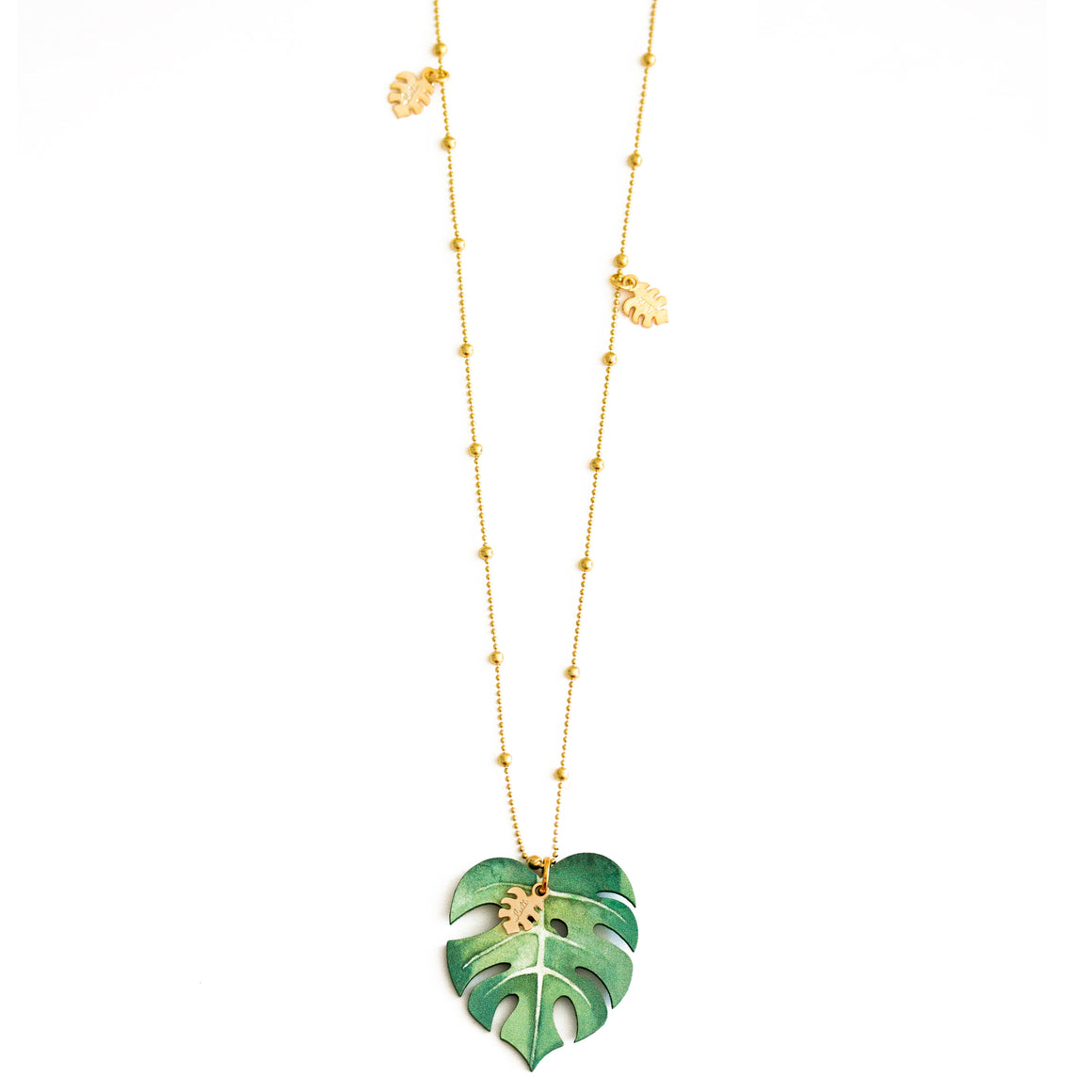 Collana Maxi Monstera