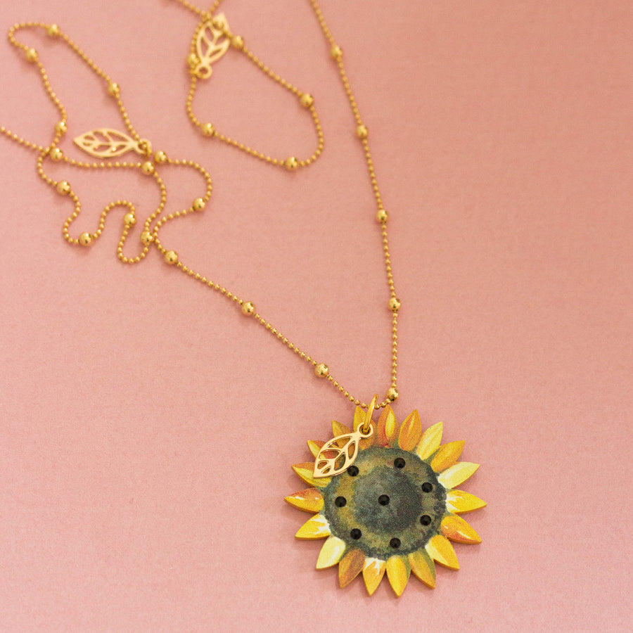 Collana Sunflower - Luli Art Bijoux