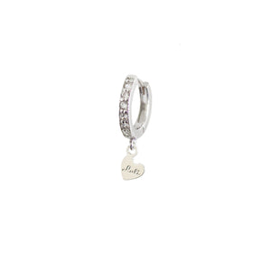MINI CERCHIETTO ZIRCONI <br /> placcato argento