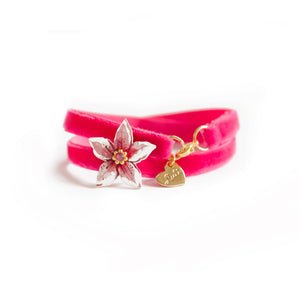 FLOWER VELVET - 2 in 1 <br /> Azalea - Luli Art Bijoux