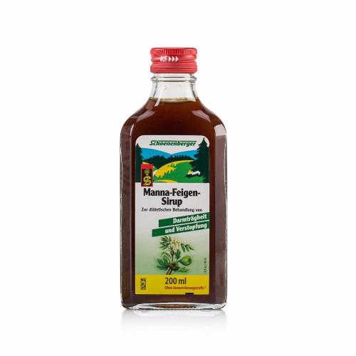 Treatment of intestinal inertia and constipation. Schoenenberger Manna-Fig Syrup.