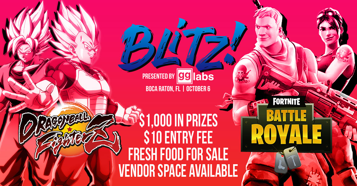 BLITZ! Presented by GG Labs
