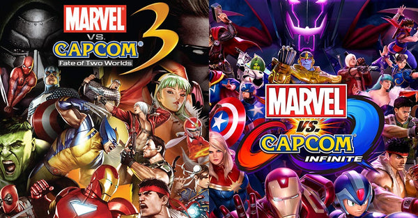3 vs Infinite: The Changes of Marvel vs Capcom