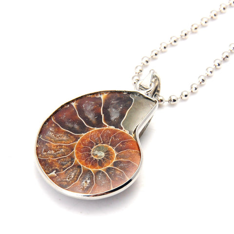Fibonacci Necklace (Ammonite)