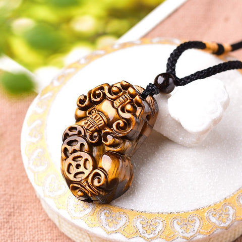 Yunqi Necklace (Tiger-Eye)