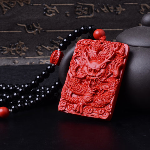 Huo Necklace (Cinnabar)
