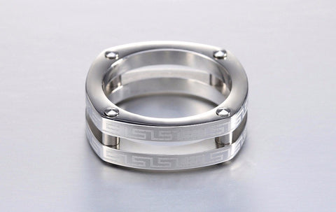 Classic Stainless Steel Screw Lock Ring