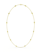 14k / 18k Gold Lucky Bug Necklace 29""