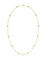 14k Gold Lucky Bug Necklace 29""