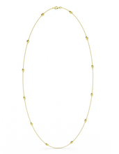 14k / 18k Gold Lucky Bug Necklace 36""