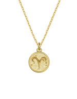 14k / 18k Aries Zodiac Necklace