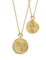 14k Gold BEAVER Amulet Necklace