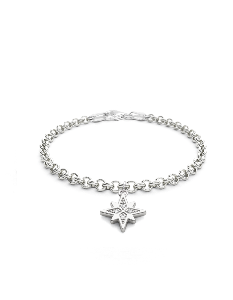 Diamond Morning Star Charmer Bracelet