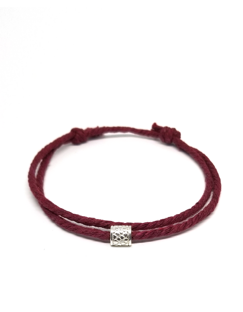 Burgundy Wine - Cast Away Anklet & Bracelet