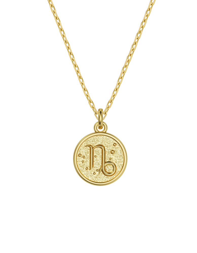 14k / 18k Capricorn Zodiac Necklace