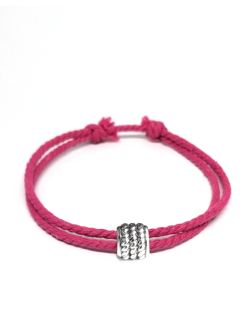 Fuschia - Cast Away Anklet & Bracelet