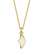Manta Charmer Necklace 14k Gold