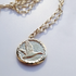 SNOW GOOSE (Capricorn) SPIRIT TOTEM NECKLACE