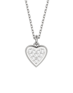 Diamond Heart Charmer Necklace