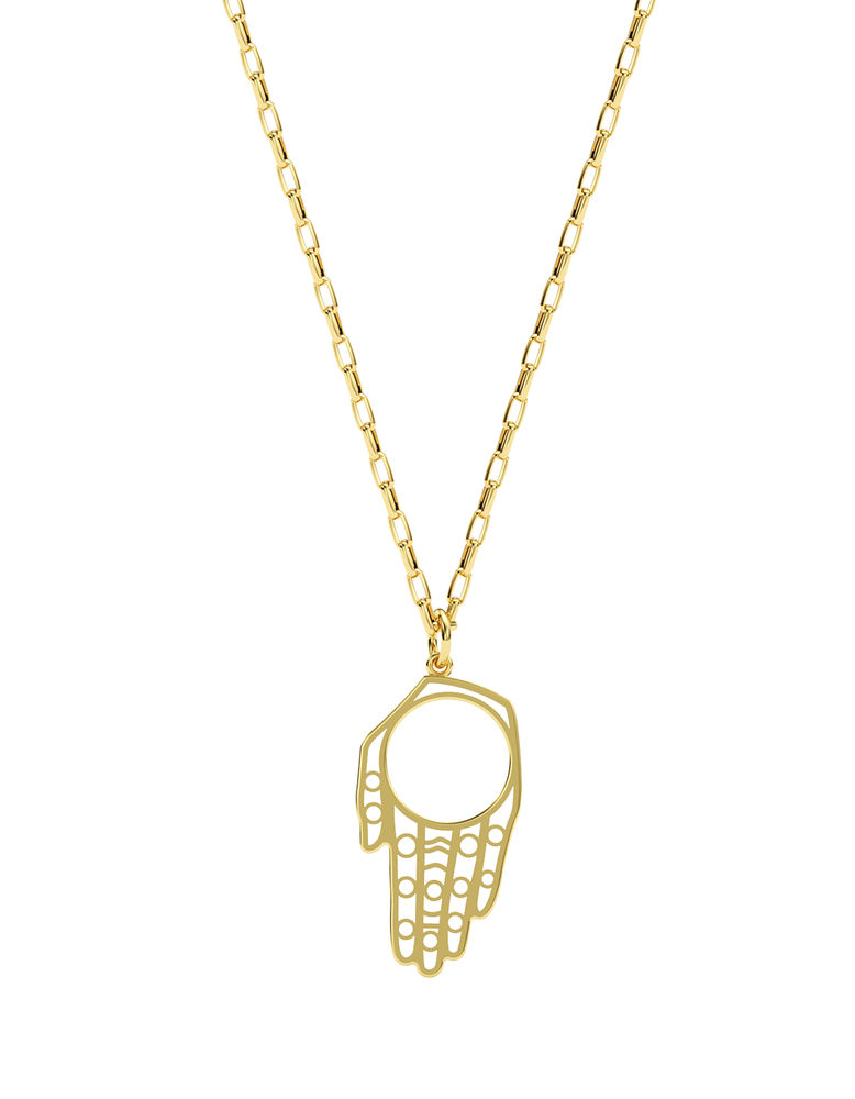 Large Protect What You Love Hamsa