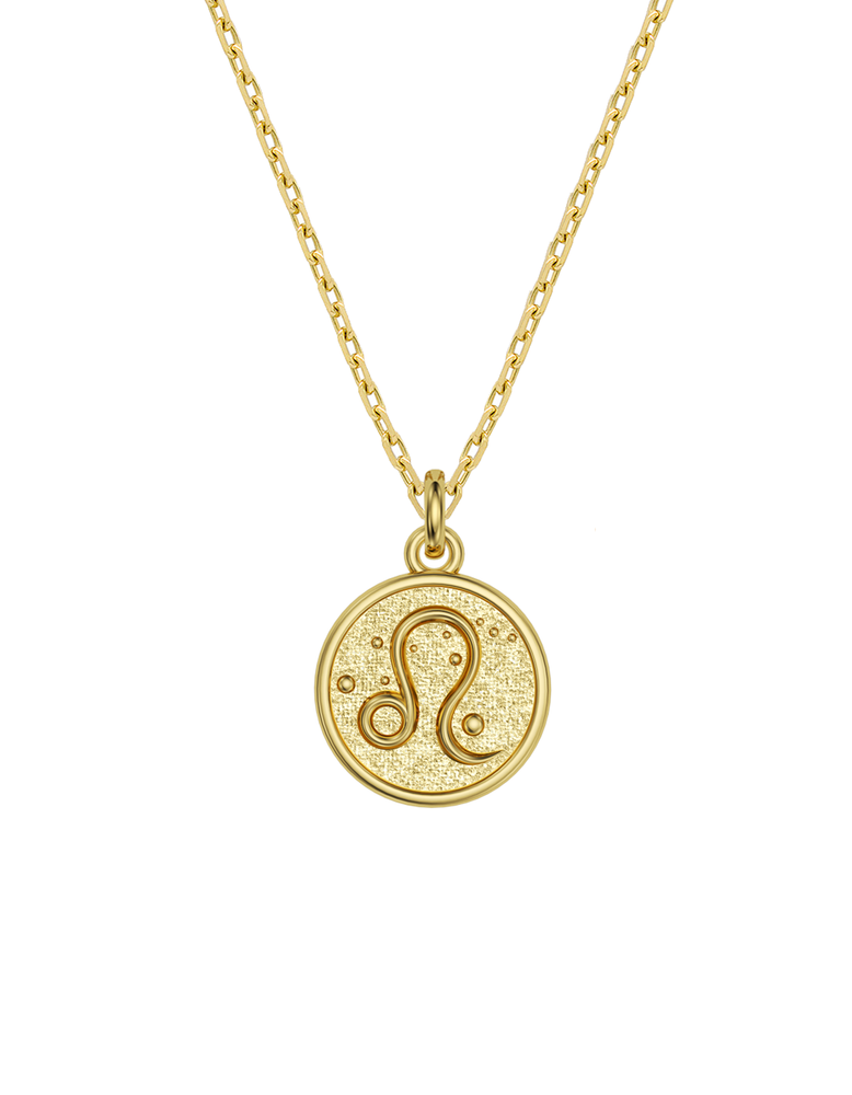 14k / 18k Leo Zodiac Necklace