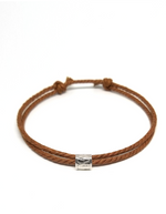 Tan - Cast Away Anklet & Bracelet