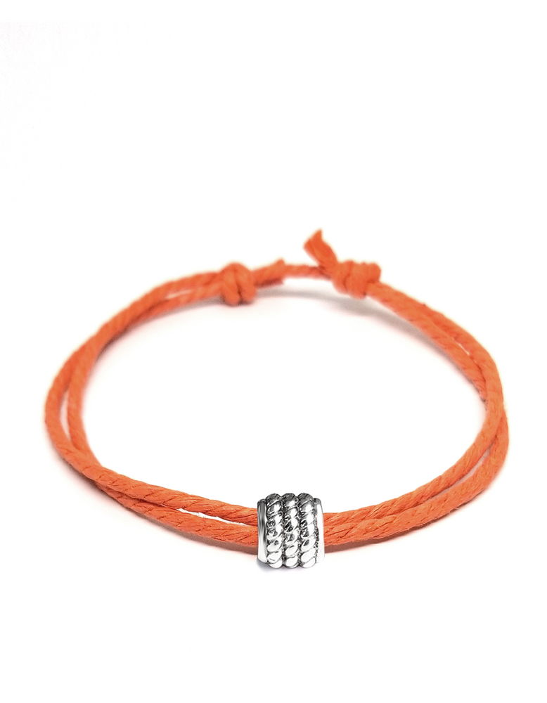 Orange - Cast Away Anklet & Bracelet