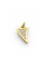 Diamond Shark Charmer 14k Gold