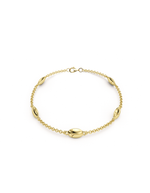 14k Gold Lucky Bug Bracelet