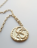 SNAKE AMULET NECKLACE