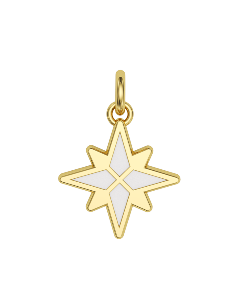 Morning Star Charmer 14k Gold
