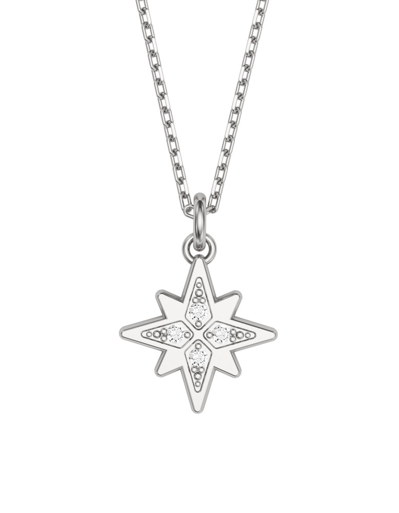 Diamond Morning Star Charmer Necklace