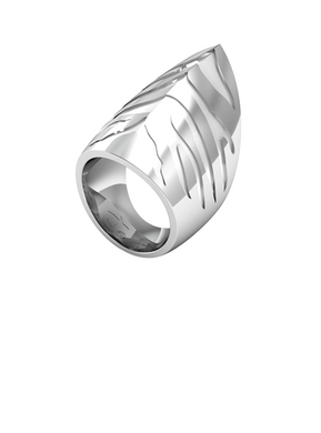 Tiger Shark Ring Silver