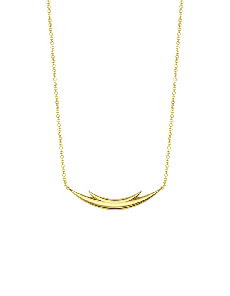 14k / 18k Gold Utoto Rhino Necklace