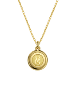 14k / 18k Libra Zodiac Necklace