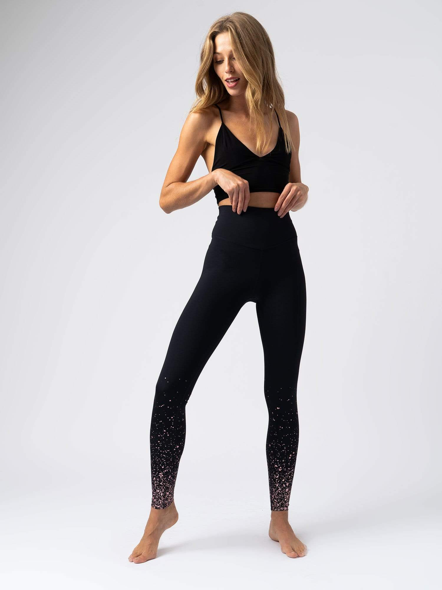 24/7 Legging Stardust - Rose Gold