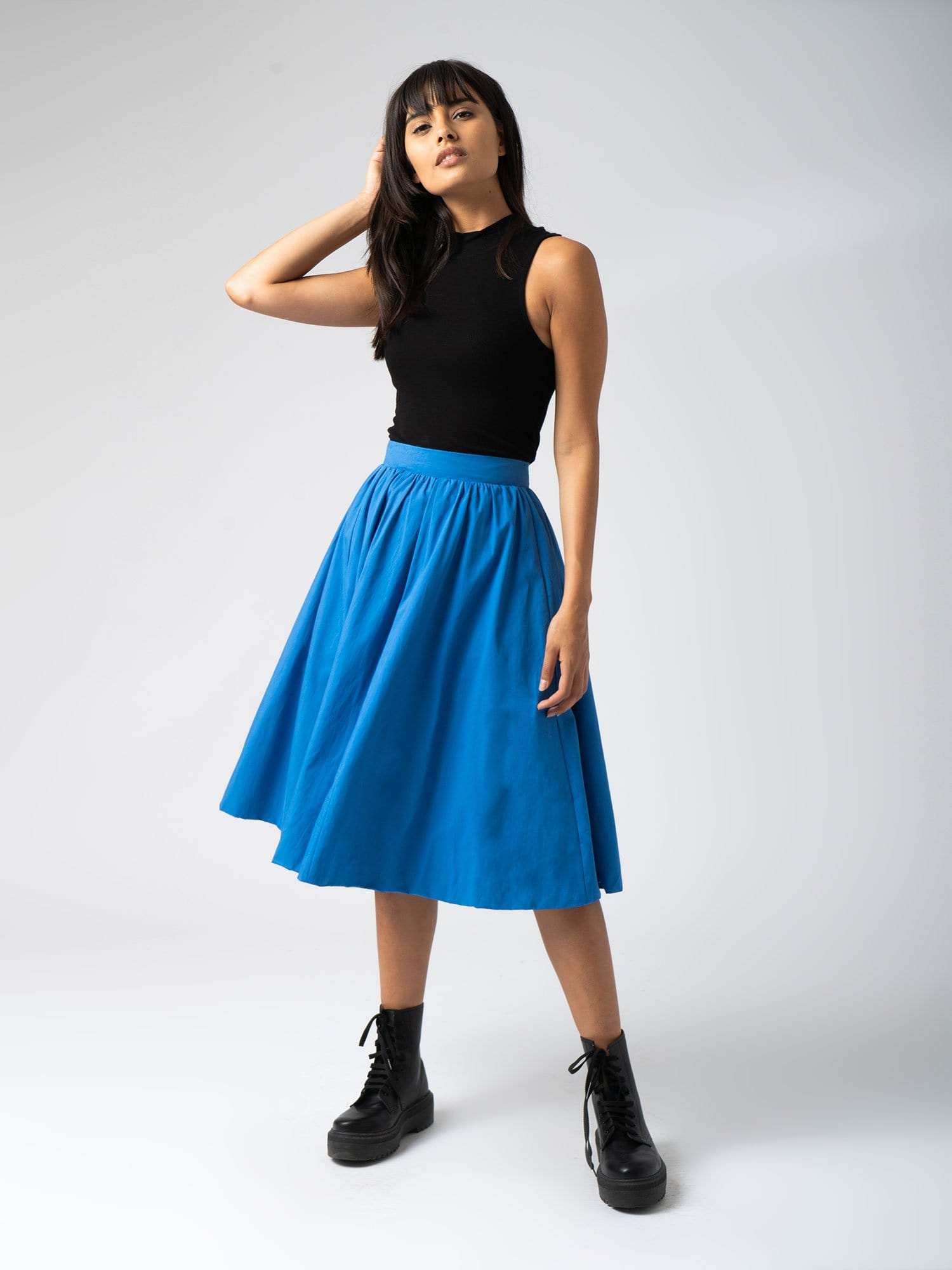 Biarritz Skirt Blue