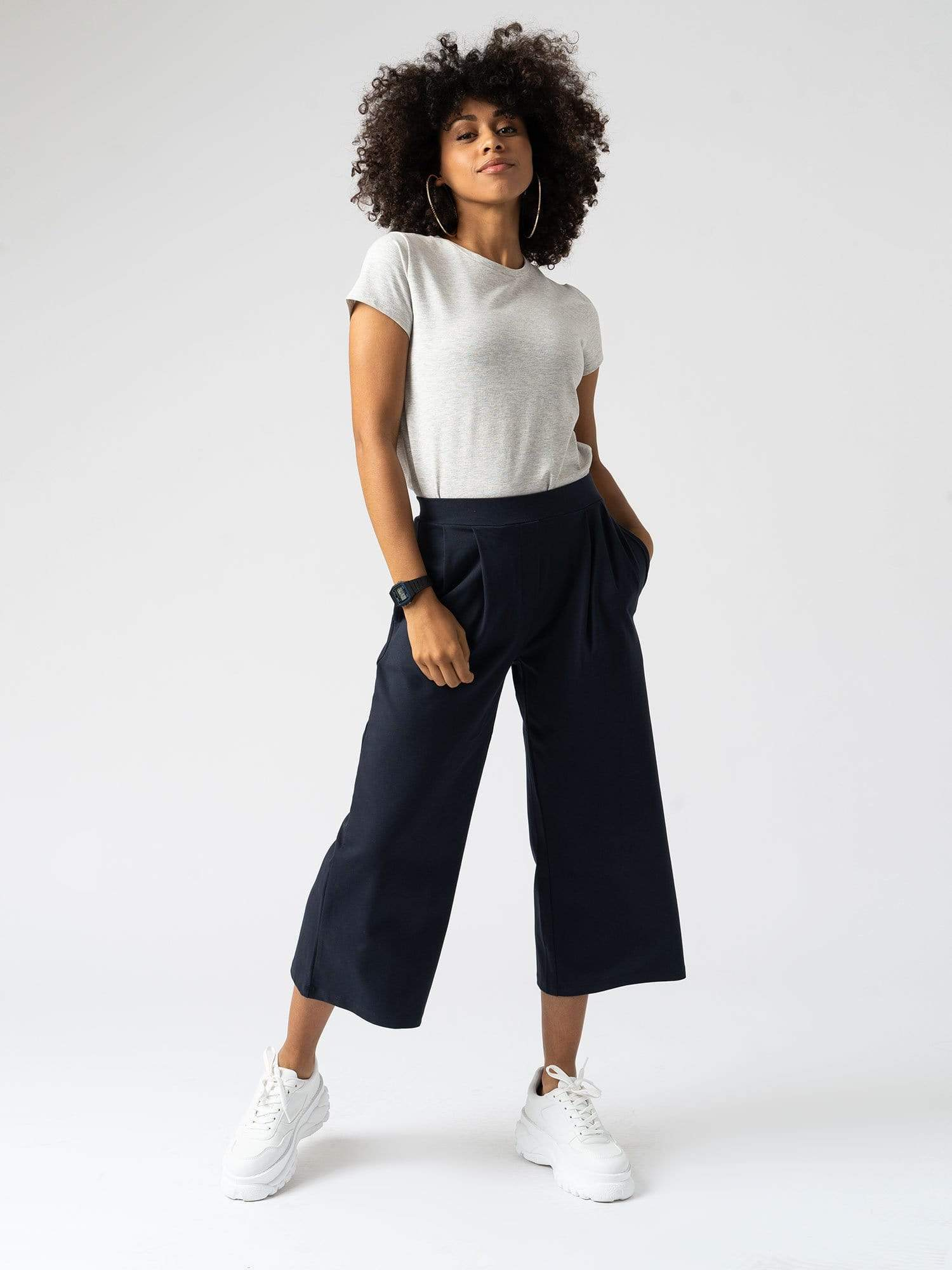City Culotte Navy