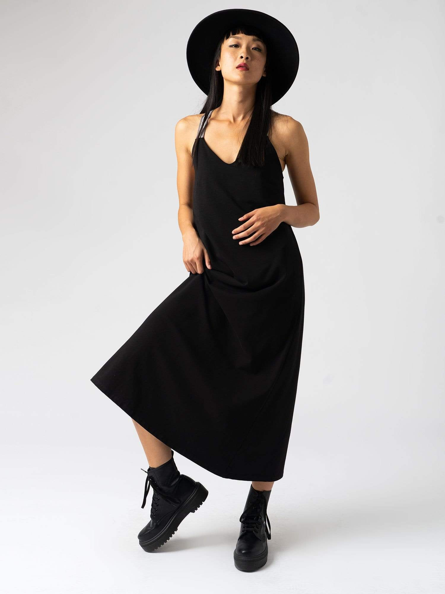 Sunset Dress Black