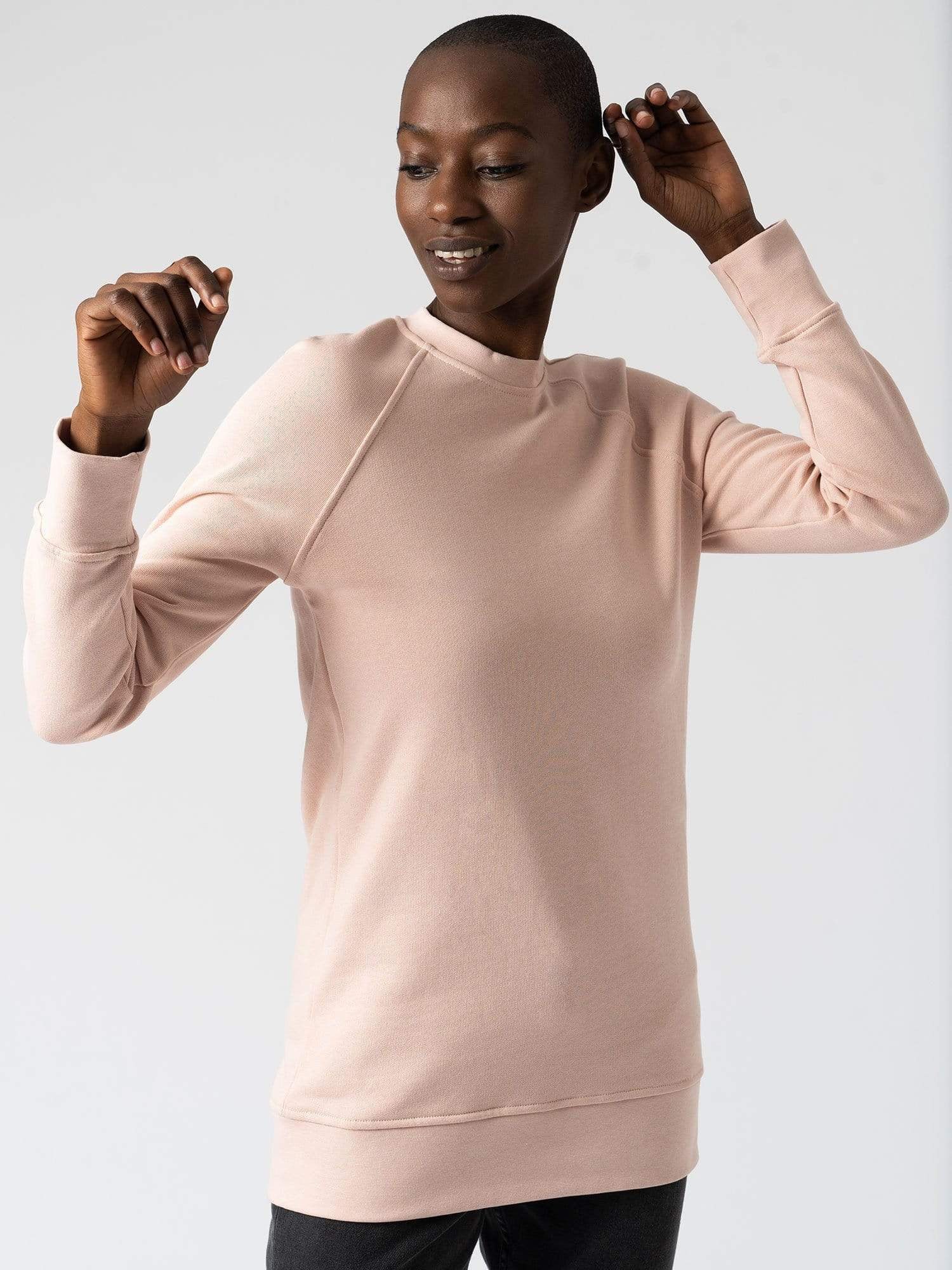 Cotton Sweater Pink
