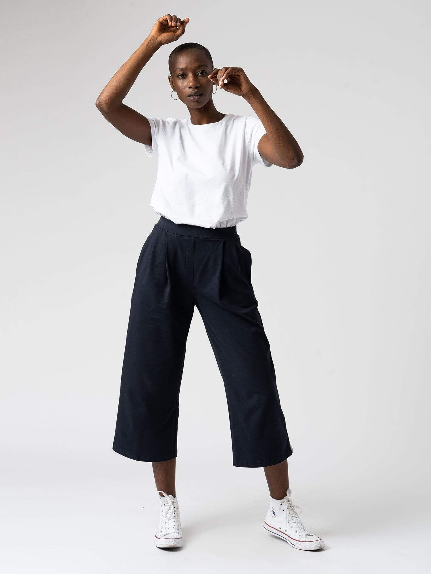 The Runway Culotte - Navy